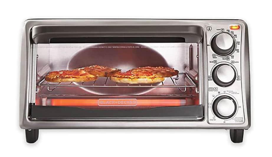 Black + Decker 4-Slice Toaster Oven