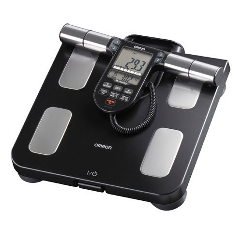 Omron Body Composition Monitor with Scale - 7 Fitness Indicators & 180-Day Memory, HBF-516B