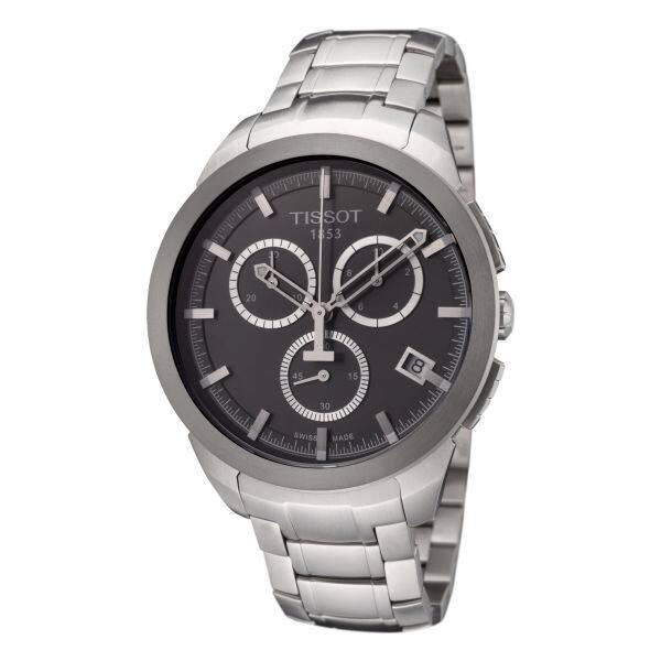 TISSOT T-Classic Titanium Men's Quartz Watch w/ Titanium Bracelet