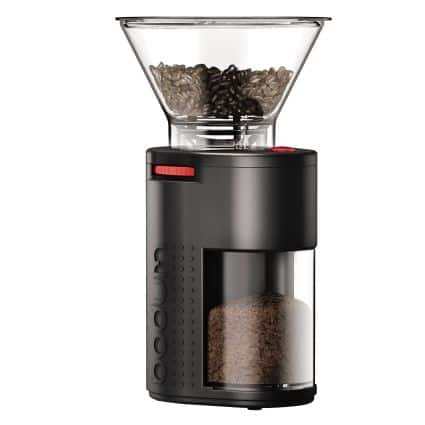 E-Bodum Bistro Electric Coffee Burr Grinder