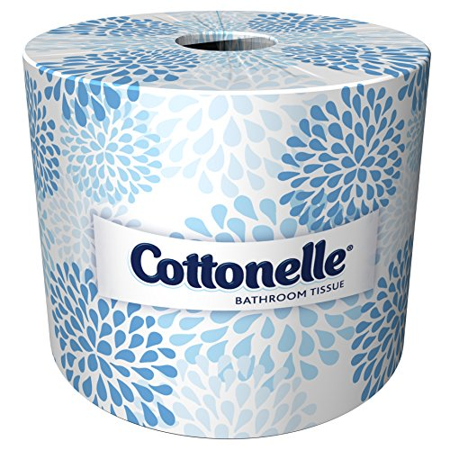 Cottonelle Professional Bulk Toilet Paper for Business (17713), Standard Toilet Paper Rolls, 2-PLY, White, 60 Rolls / Case, 451 Sheets / Rolll