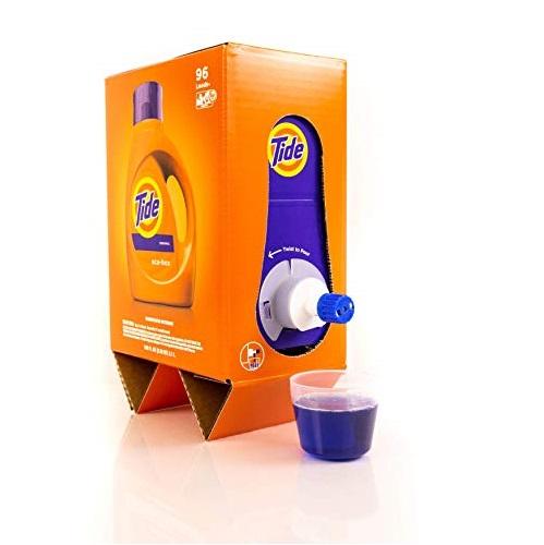 Tide Liquid Laundry Detergent Eco-Box, Original Scent