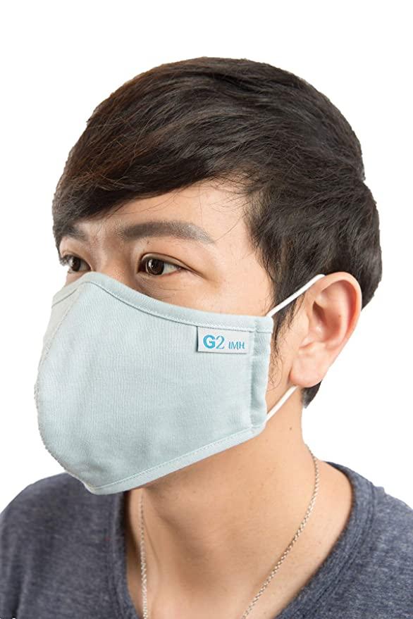 抑菌透气!天然甲壳素纤维棉布口罩