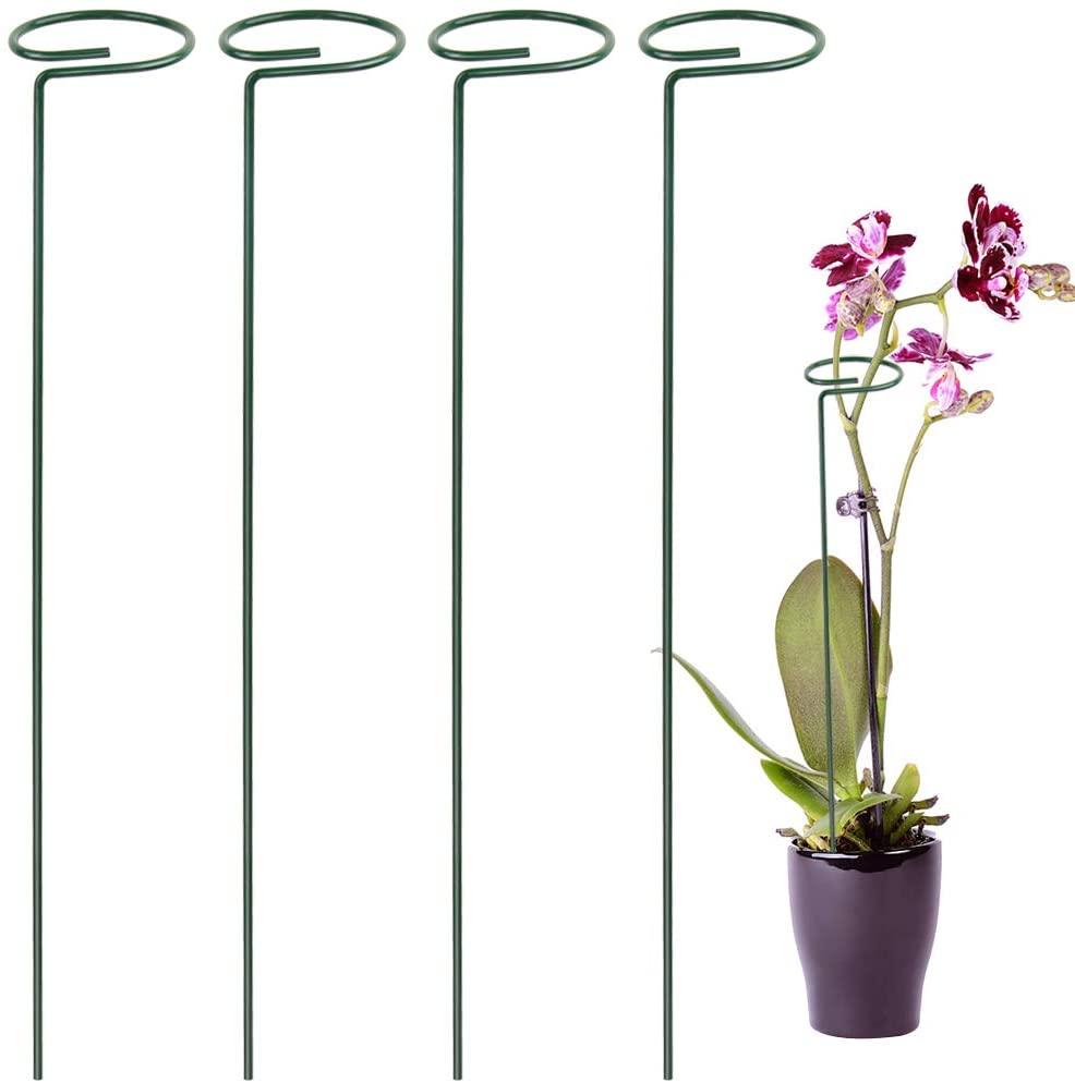 植物支撑桩4件,适用玫瑰,百合,向日葵,西红柿
