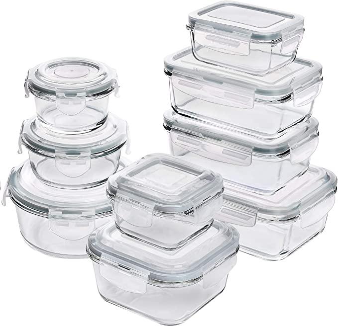 顶级评价!玻璃食品存储和18件套