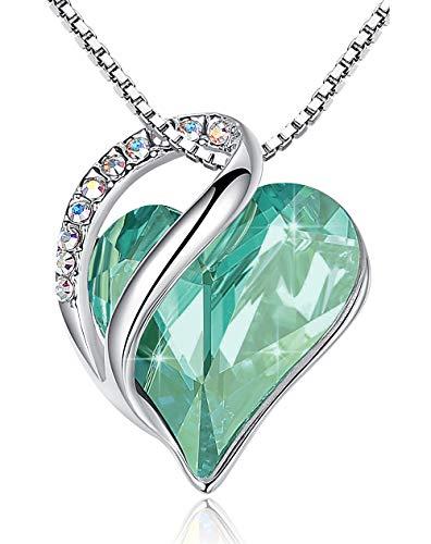 施华洛世奇翡翠绿水晶项链