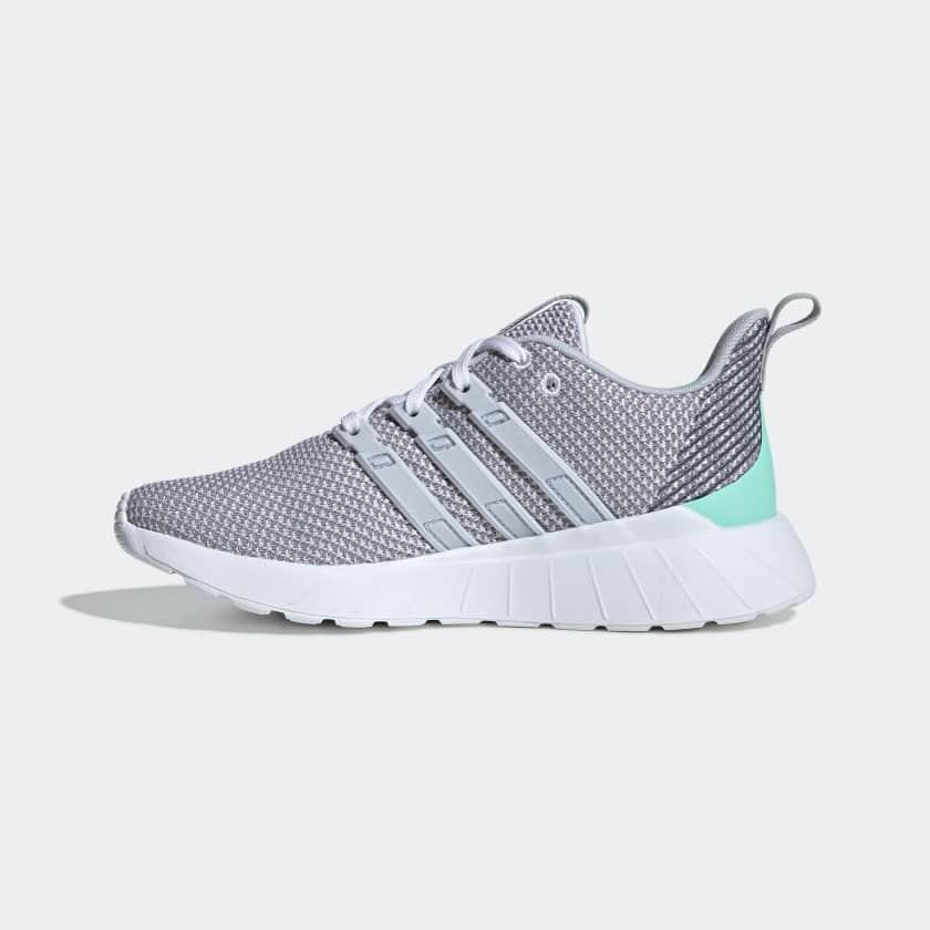 adidas Kids' Questar Flow Shoes (Cloud White)