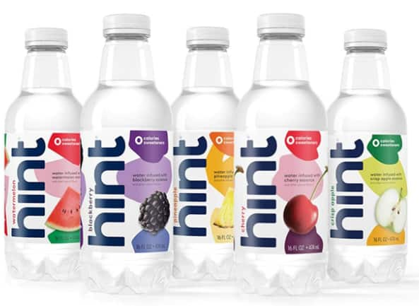 24-Pack 16oz Hint Fruit Infused Water (Variety Pack)