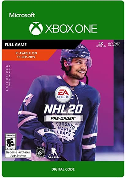 NHL 20: Standard Edition (Xbox One Digital Download)