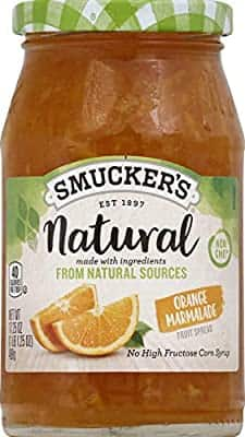 17.25oz Smucker's Natural Fruit Spread (Orange Marmalade)