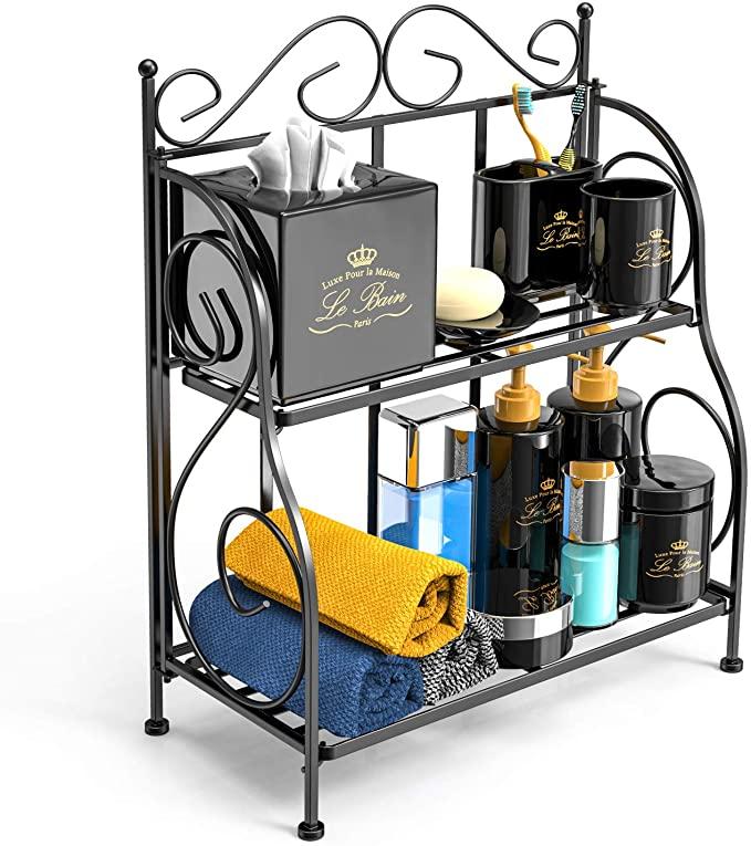 顶级评价浴室/厨房储物架,造型美观又实用