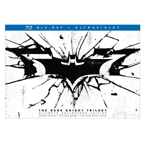 The Dark Knight Trilogy Special Edition (BD) [Blu-ray]