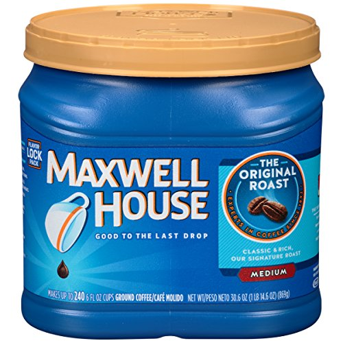 Maxwell House Original Medium Roast Ground Coffee (30.6 oz Canister)