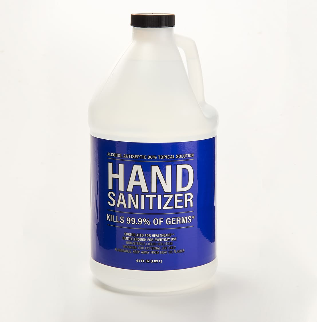 80% Alcohol Hand Sanitizer Half Gallon Bottle