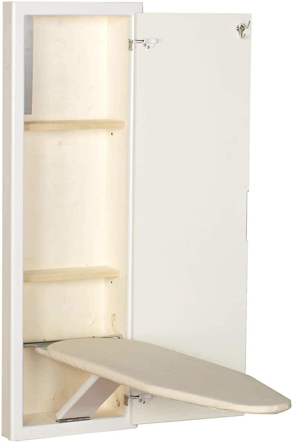 Household Essentials StowAway In-Wall Ironing Board Cabinet