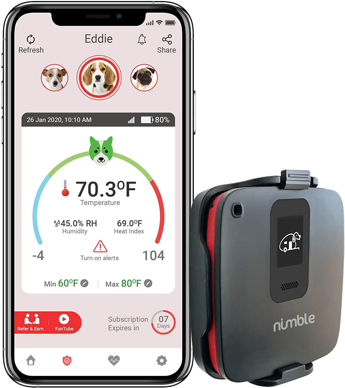 RV/Dog Safety Temperature & Humidity Sensor