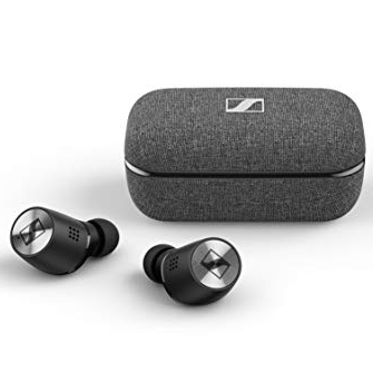 Sennheiser Momentum True Wireless 2 - Bluetooth Earbuds with Active Noise Cancellation, Smart Pause, Customizable Touch Control and 28-Hour Battery Life - Black (M3IETW2 Black)