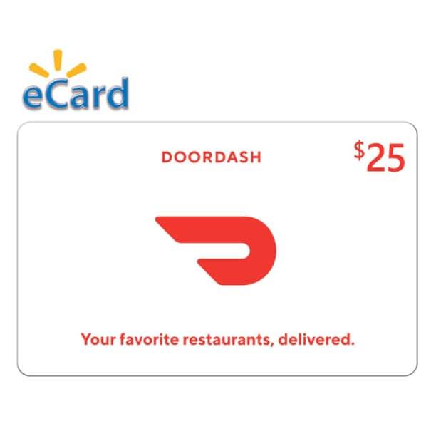 DoorDash eGift Cards: $100 for $85, $50 for $42.50, $25 for