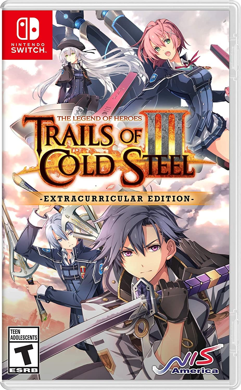 The Legend of Heroes: Trails of Cold Steel III: Extracurricular Edition (Nintendo Switch)