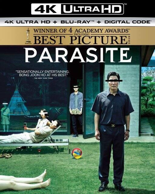 Parasite (4K UHD + Blu-ray + Digital)
