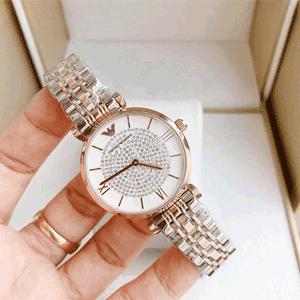 Armani阿玛尼 AR1925 满天星女士时尚腕表