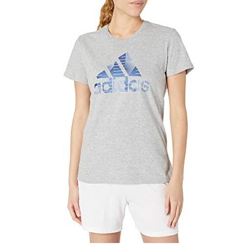 adidas阿迪达斯 女款 全棉 运动 T恤