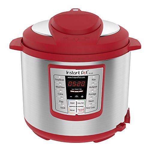 史低价!Instant Pot LUX 60 六合一多功能数码电压力锅,6夸脱