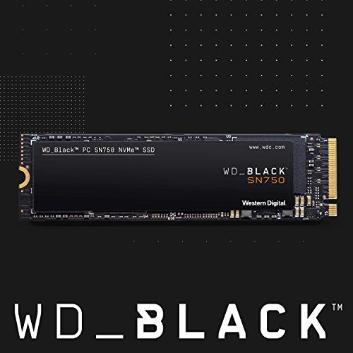 史低价!WD西数 BLACK SN750 黑盘 NVMe M.2 2280 固态硬盘,2TB 款
