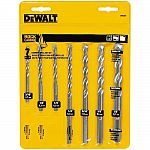 7-Piece DeWalt Rapid Load Carbide Masonry Drill Bit Set
