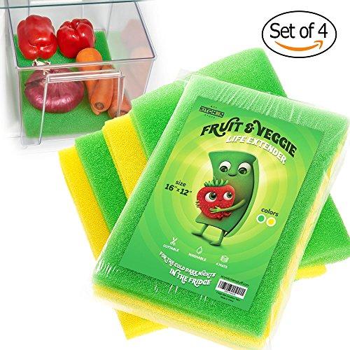 你知道用这个垫子可以延长水果蔬菜保存期吗?