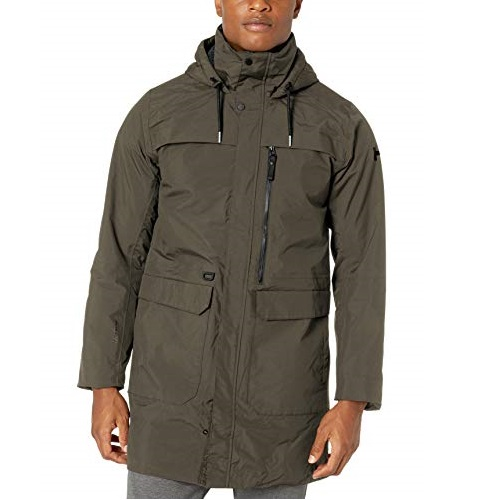 Helly Hansen Men's Waterville Long Fully Waterproof Breathable Light Primalof Insulated Parka Coat