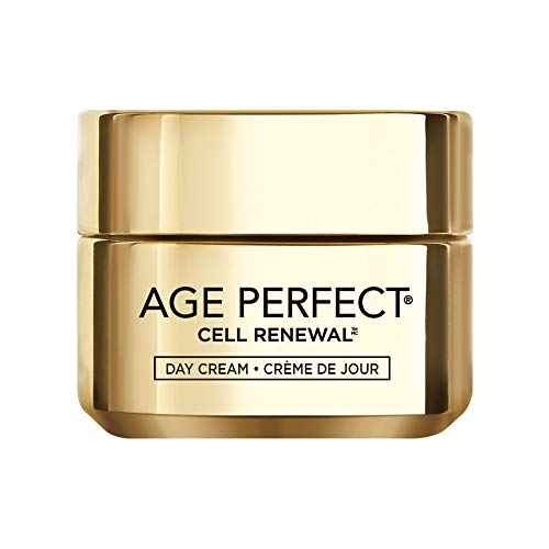 Face Moisturizer, L'Oreal Paris Age Perfect Cell Renewal Skin Renewing Day Cream with SPF 15 Sunscreen with Salicylic Acid to Stimulate Surface Cell Turnover 1.7 oz