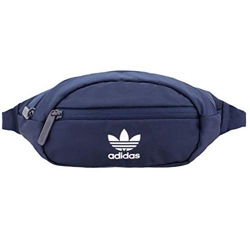 史低价!adidas阿迪达斯 三叶草纯色小腰包