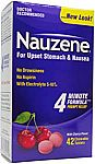 42-Ct Nauzene Upset Stomach & Nausea Relief Chewable Tablets (Wild Cherry)