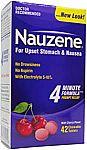 42-Ct Nauzene Upset Stomach & Nausea Relief Chewable Tablets (Wild Cherry)