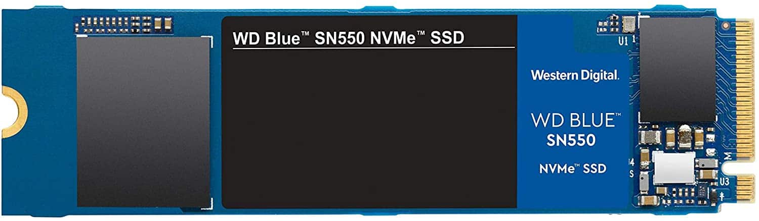 New Customers: 1TB WD Blue SN550 NVMe 3D NAND M.2 2280 Solid State Drive