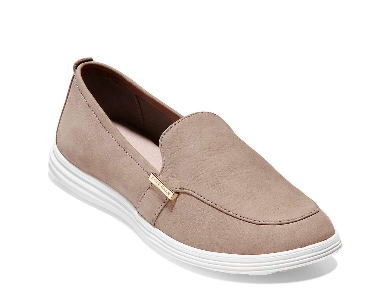 Women's Cole Haan Grand 2 Leather Loafer (Taupe)