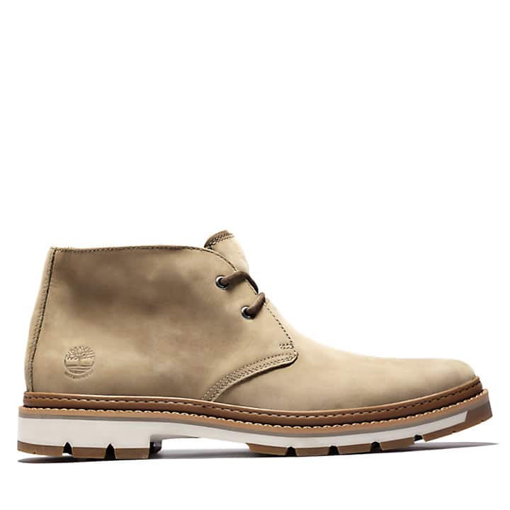 Timberland Men's Port Union Waterproof Chukka Boots (light brown)