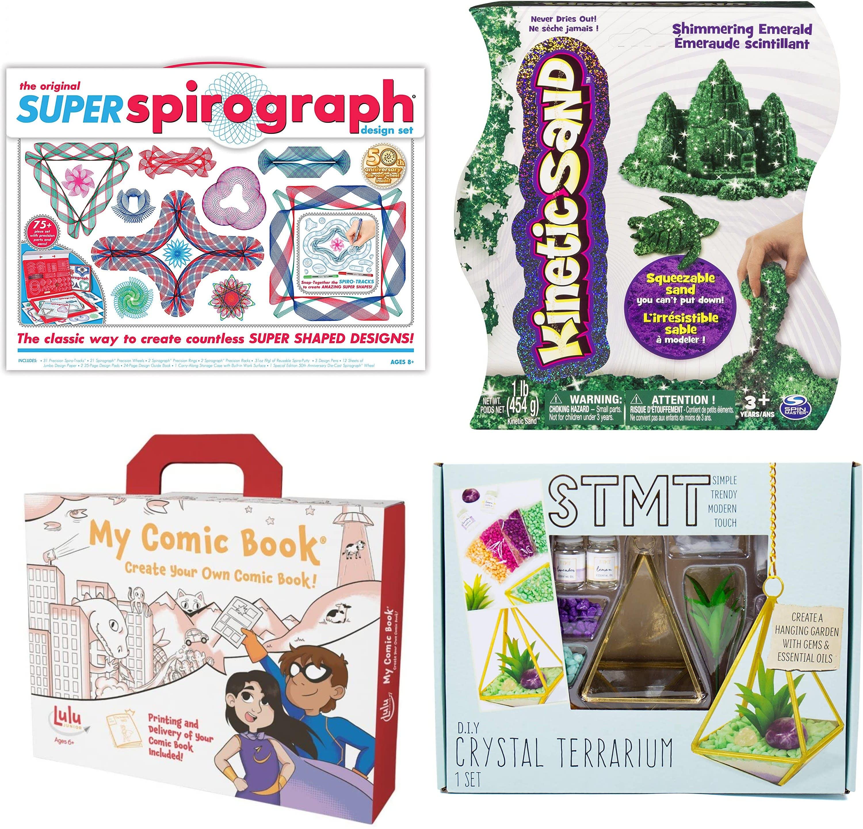 Arts & Crafts Kits at Amazon