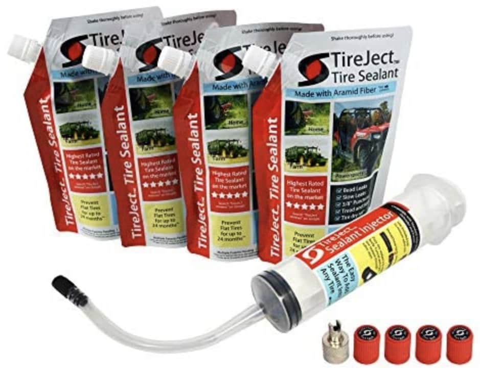 TireJect Off-Road Flat Tire Protection 40-oz. Kit