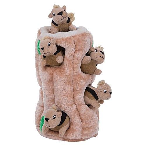 7-Piece Outward Hound Hide-A-Squirel Dog Toy (X-Large)