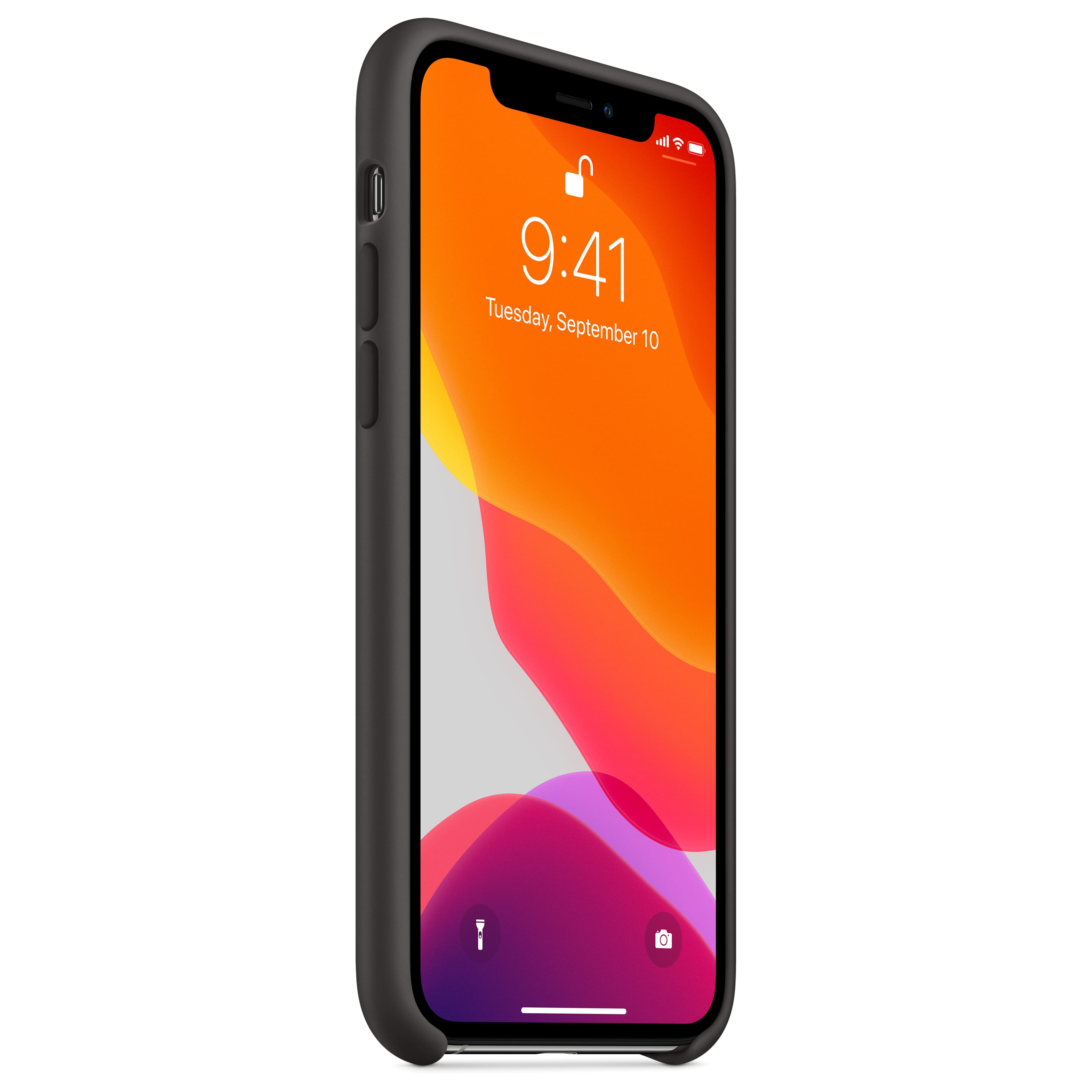 Apple iPhone Silicone Case: iPhone 11 (White) $13.15, iPhone 11 Pro (Black)