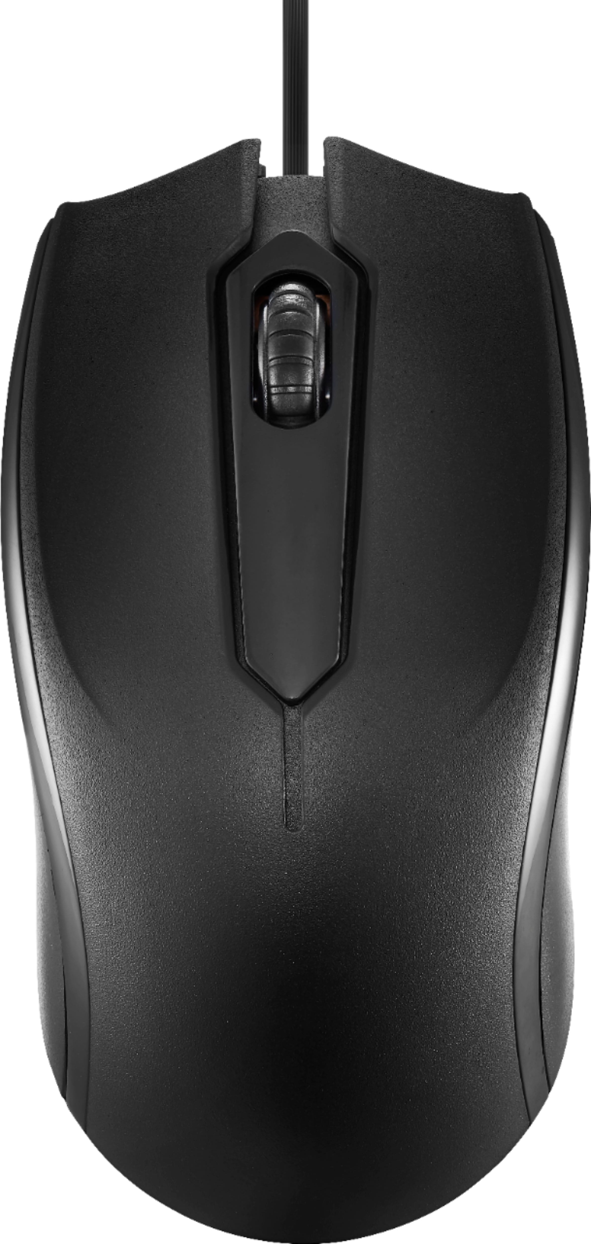 Dynex Wired Optical Mouse (Black)