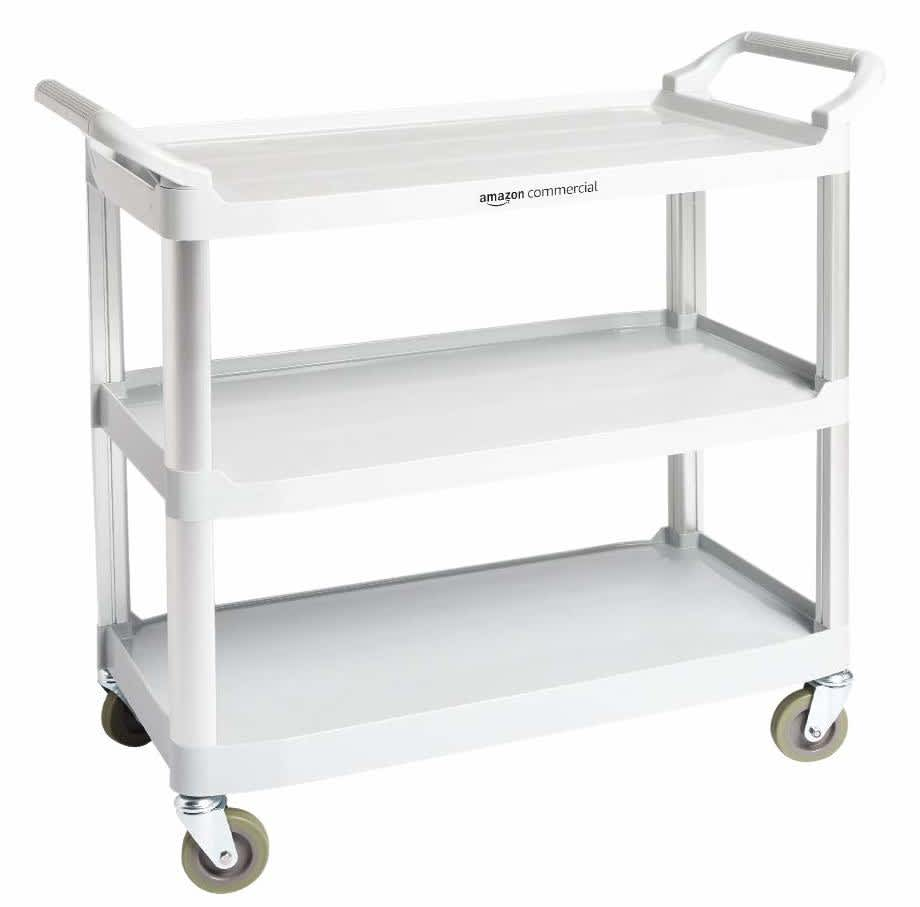 AmazonCommercial 3-Tier Utility Cart