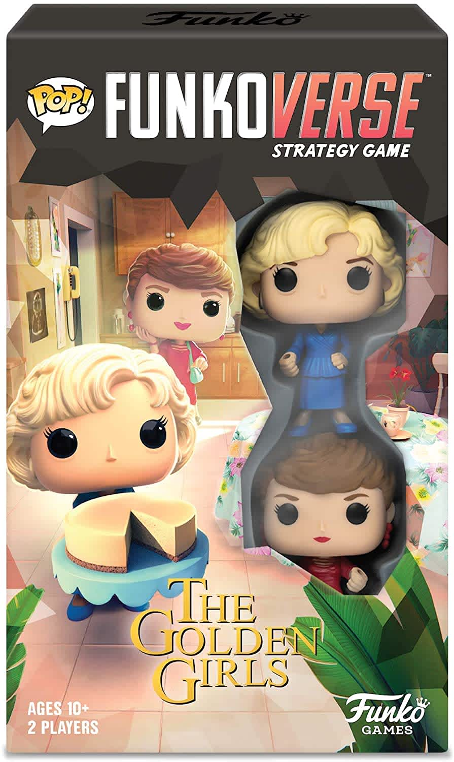 Funko Pop! Funkoverse Strategy Game: The Golden Girls