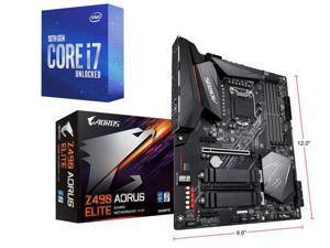 Gigabyte Z490 AORUS ELITE Motherboard + Intel Core i7-10700K 8-Core 3.80GHz CPU