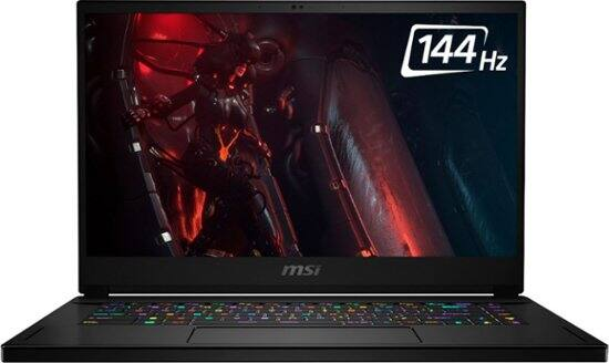 "MSI GS66 10SE Laptop: i7-10750H, 15.6"" 144Hz, 16GB DDR4, 512GB SSD, RTX 2060"