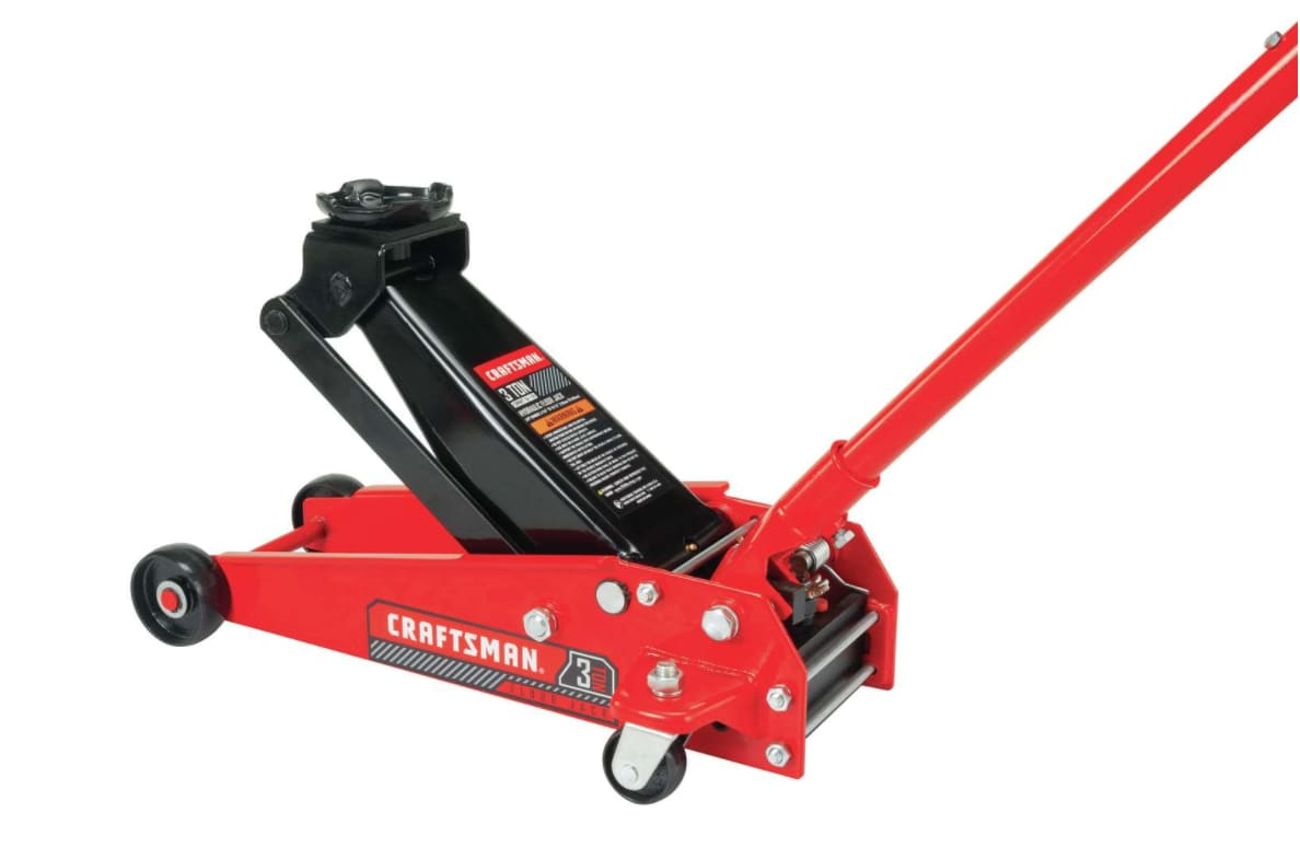 Craftsman Manual Automotive 3-Ton Floor Jack