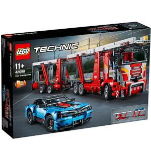 LEGO乐高 机械组 汽车运输双车套装(42098)