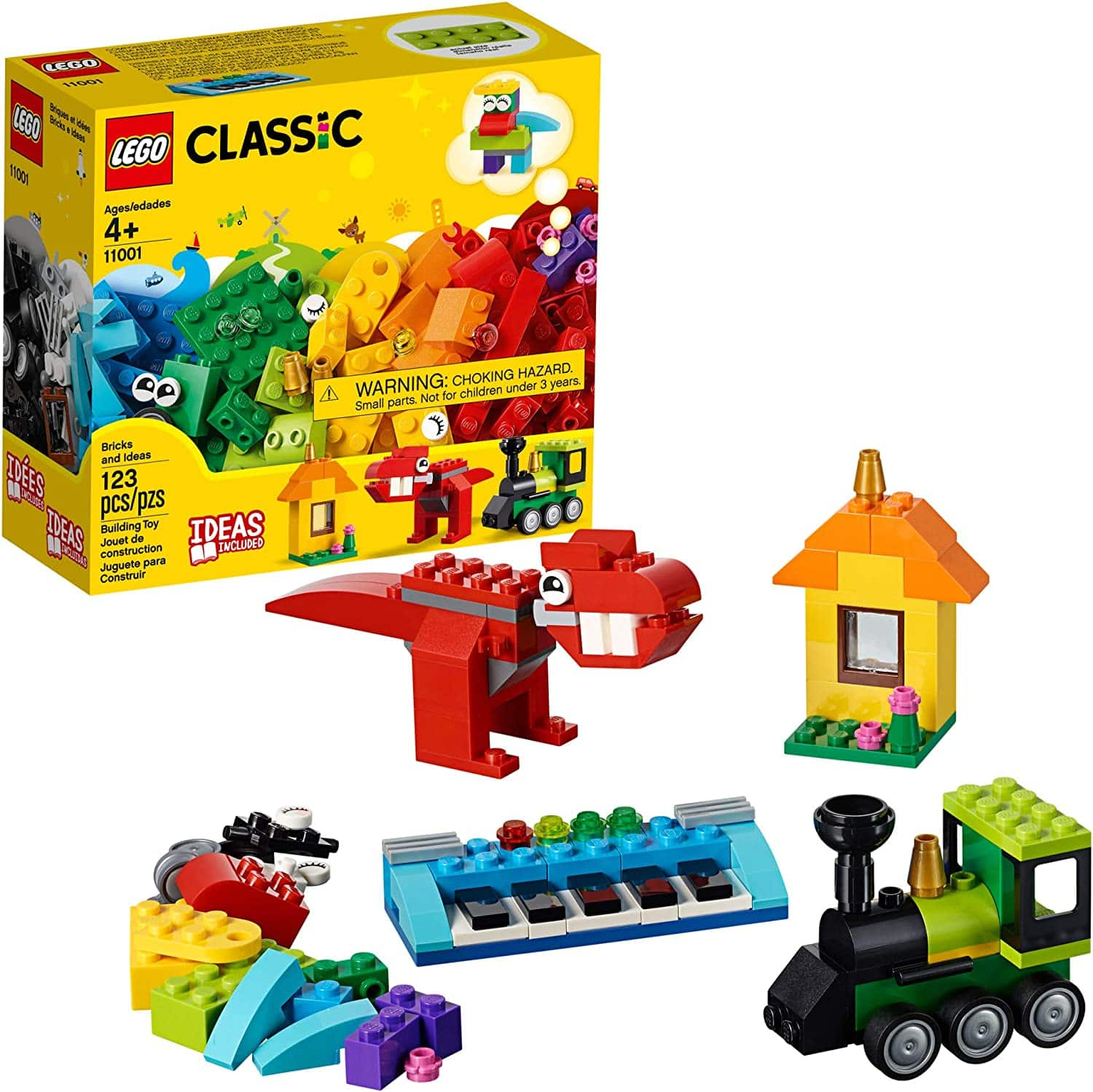 123-Piece LEGO Classic Bricks and Ideas Building Kit